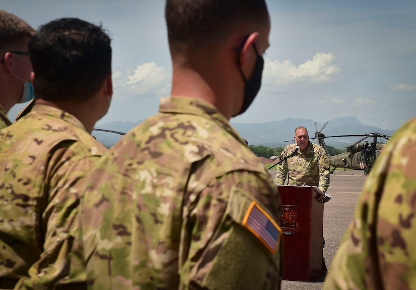 Winged Warriors receive Guatemalan Defense decorations