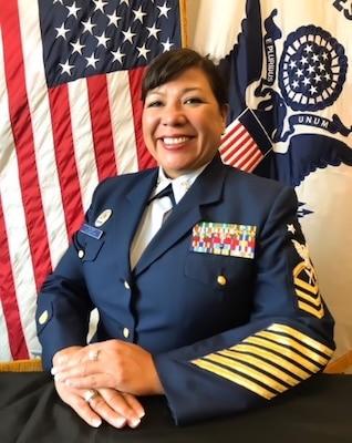 photo of Master Chief Melissa Sharer