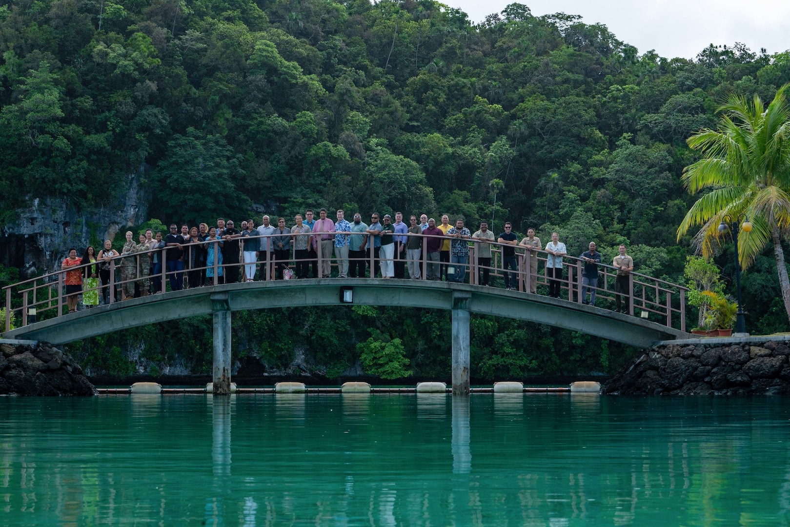 Pacific Partnership 2021 mission concludes in Palau