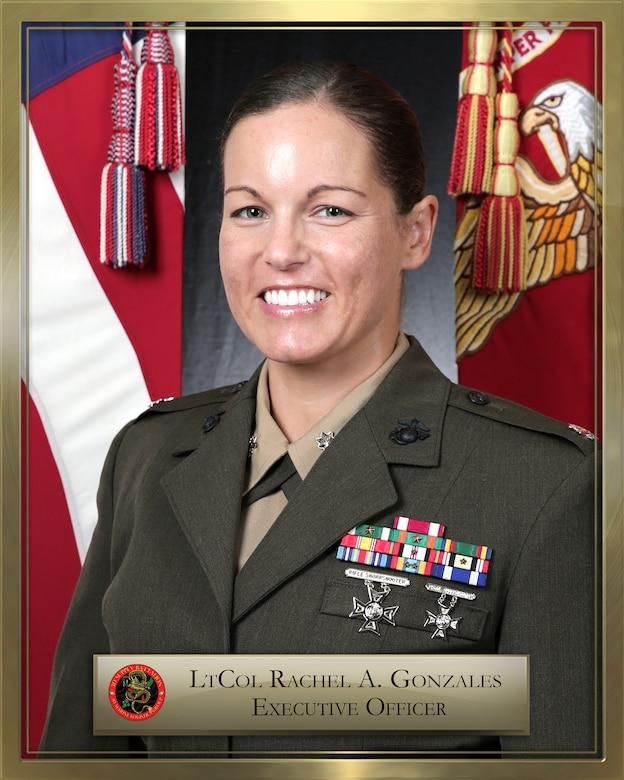 Lieutenant Colonel  Rachel A, Gonzales official biography photo