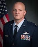 U.S. Air Force Official photo for Col. Joshua Padgett's biography.