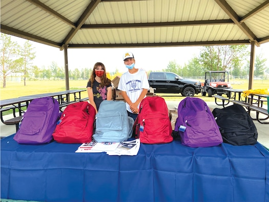 On Aug. 6, 2021, the Minot Air Force Base Youth Center partnered with national nonprofit Operation Homefront to hold their annual Back to School Brigade. The event offered free resources and support to military families as children are heading back to school, which can be a hectic (and expensive) time of year.