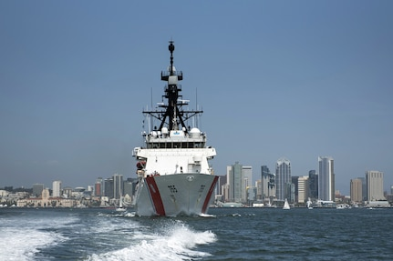 Coast Guard Cutter Munro arrives in Western Pacific on deployment