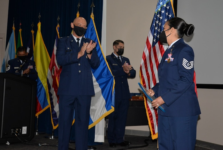 Air Force colonel applauds technical sergeant