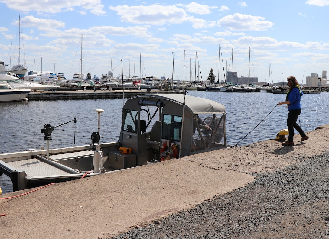 Corps of Engineers, Duluth Area Office will repair its southern Vessel Yard Pier to support continued operations.