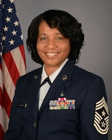 Chief Master Sgt. Camille Caldwell, South Carolina Military Department State Command Senior Enlisted Advisor