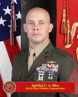 Marine Corps Air Station Camp Pendleton Sergeant Major