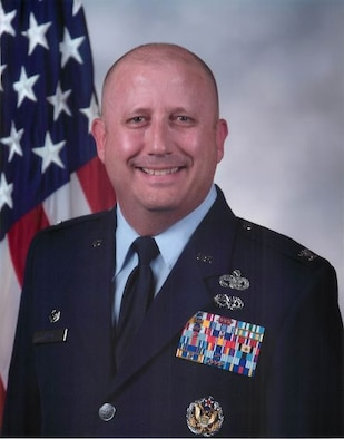 Col. Bary Flack official photo.