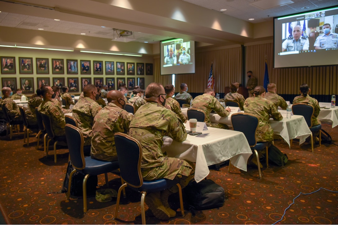 The first group of future U.S. Space Force recruiters attended a five day training course Aug. 9, 2021 to Aug. 13, 2021, at Vandenberg Space Force Base, California.