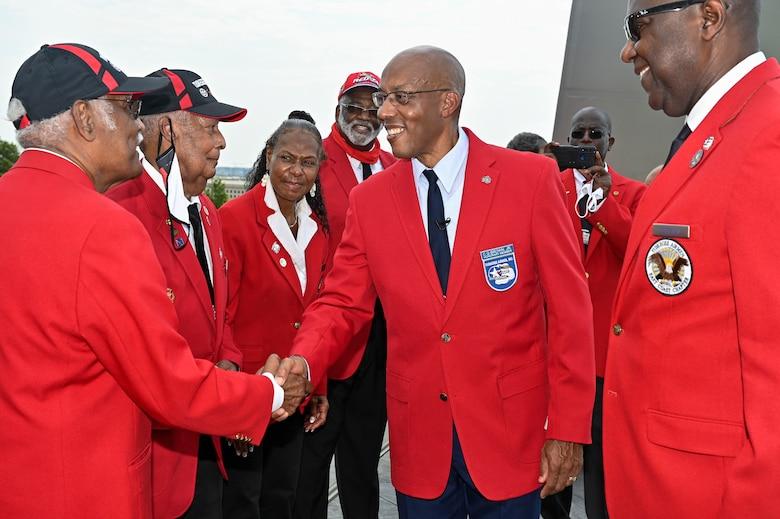 Brown named honorary Tuskegee Airman