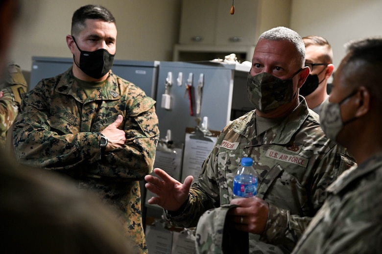 The CSEL visited Osan AB to learn about its capabilities and readiness