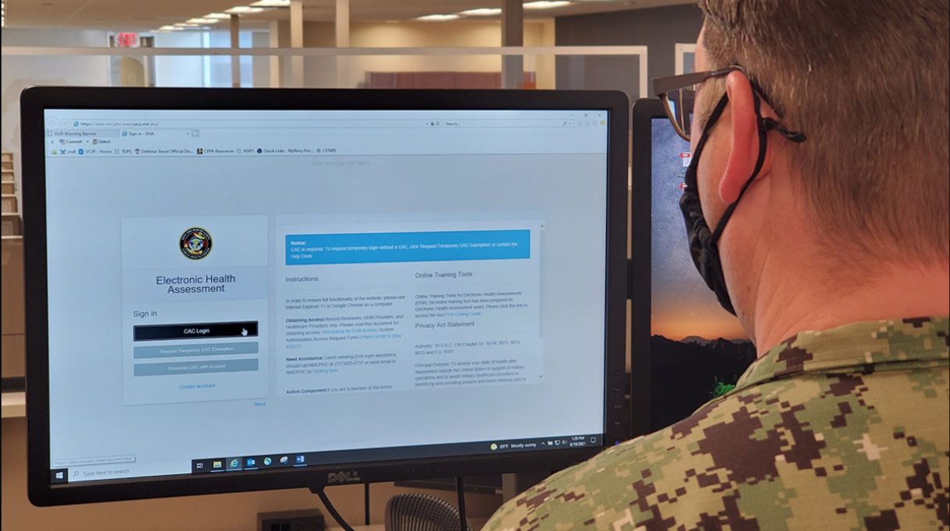 Accessing and completing a Periodic Health Assessment (PHA) or any Deployment Related Health Assessment (DRHA) is now easier with two websites combined into one.