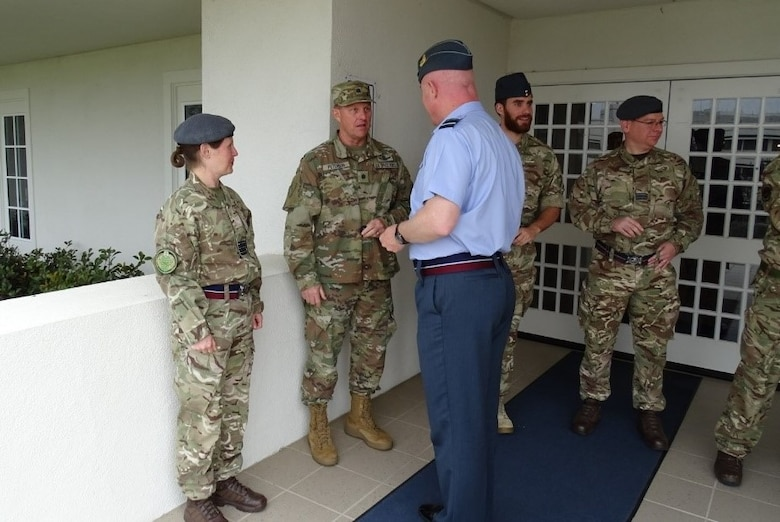 UK Director of Space visits CFSCC