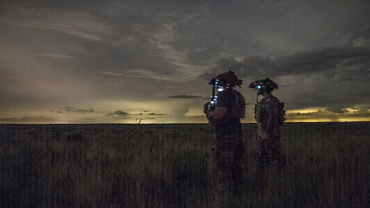 17 STS operator close air support training