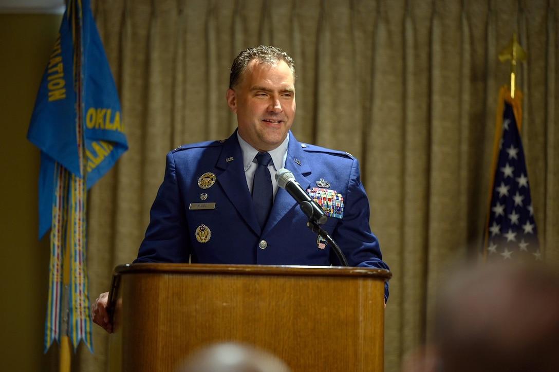 DLA Aviation at Oklahoma City, Oklahoma Change of Command ceremony