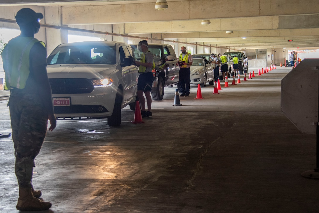 Due to an increase in cases, the WHASC is conducting a drive-through COVID-19 testing available Monday through Friday from 8 a.m. to 12 p.m. on the first floor of the parking garage. Since the testing site uses the polymerase chain reaction tests, the results are available to patients through TRICARE Online within 24 to 72 hours.