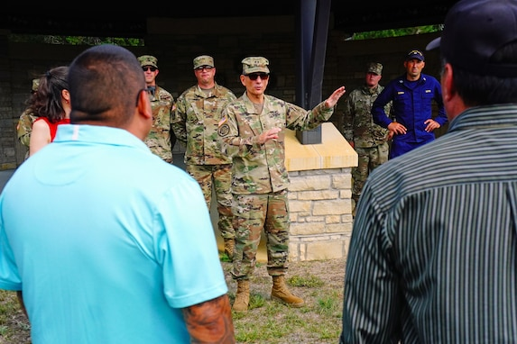 Walking Shield benefits community and Army Reserve