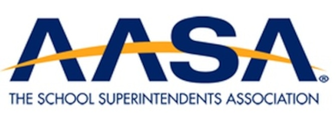 School Superintendents Association (AASA): Supporting the Military Child logo