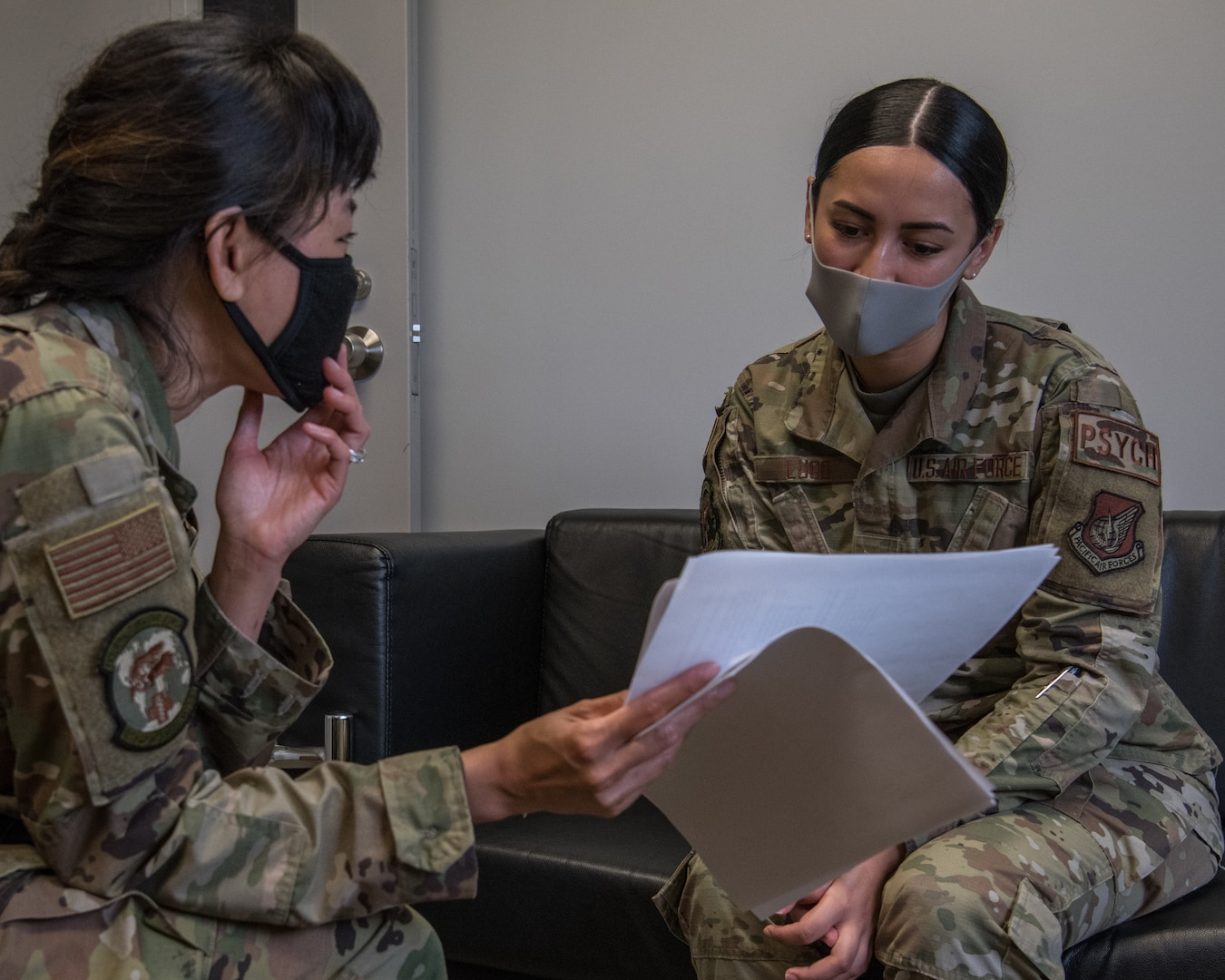 Guardian Wingman, a suicide prevention training program designed by a team at the Kadena Mental Health Clinic, aims to improve mental health management by building a community of Airmen equipped with the tools to support their fellow wingmen.