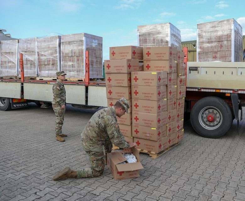 US Army Europe and Africa supports Operation Allies Refuge