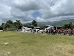 Members of U.S. Southern Command (USSOUTHCOM) Joint Task Force-Haiti and senior leaders in Haiti visit the earthquake epicenter in Petit-Trou-de-Nippes, Haiti.
