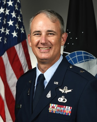 This is the official photo of Brig. Gen. D. Jason Cothern.