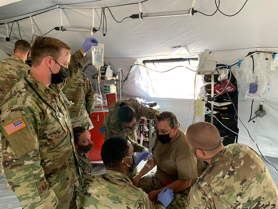 Enabling the effects - MRTC Soldiers support Global Medic at Fort McCoy