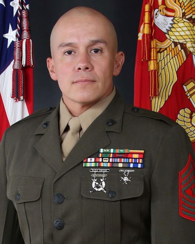 SgtMaj Ortega in service alphas.