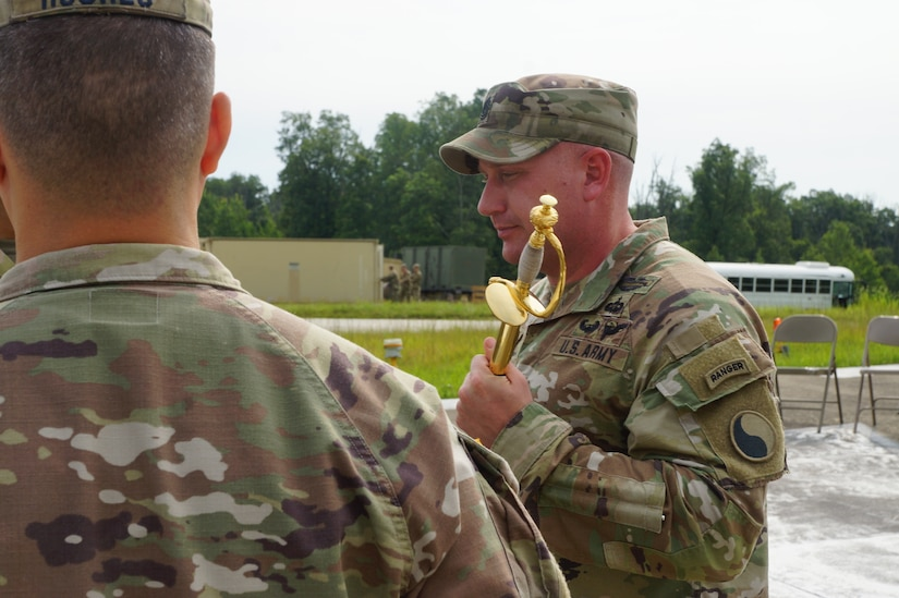 1-149th Infantry Change of Responsibility 2021