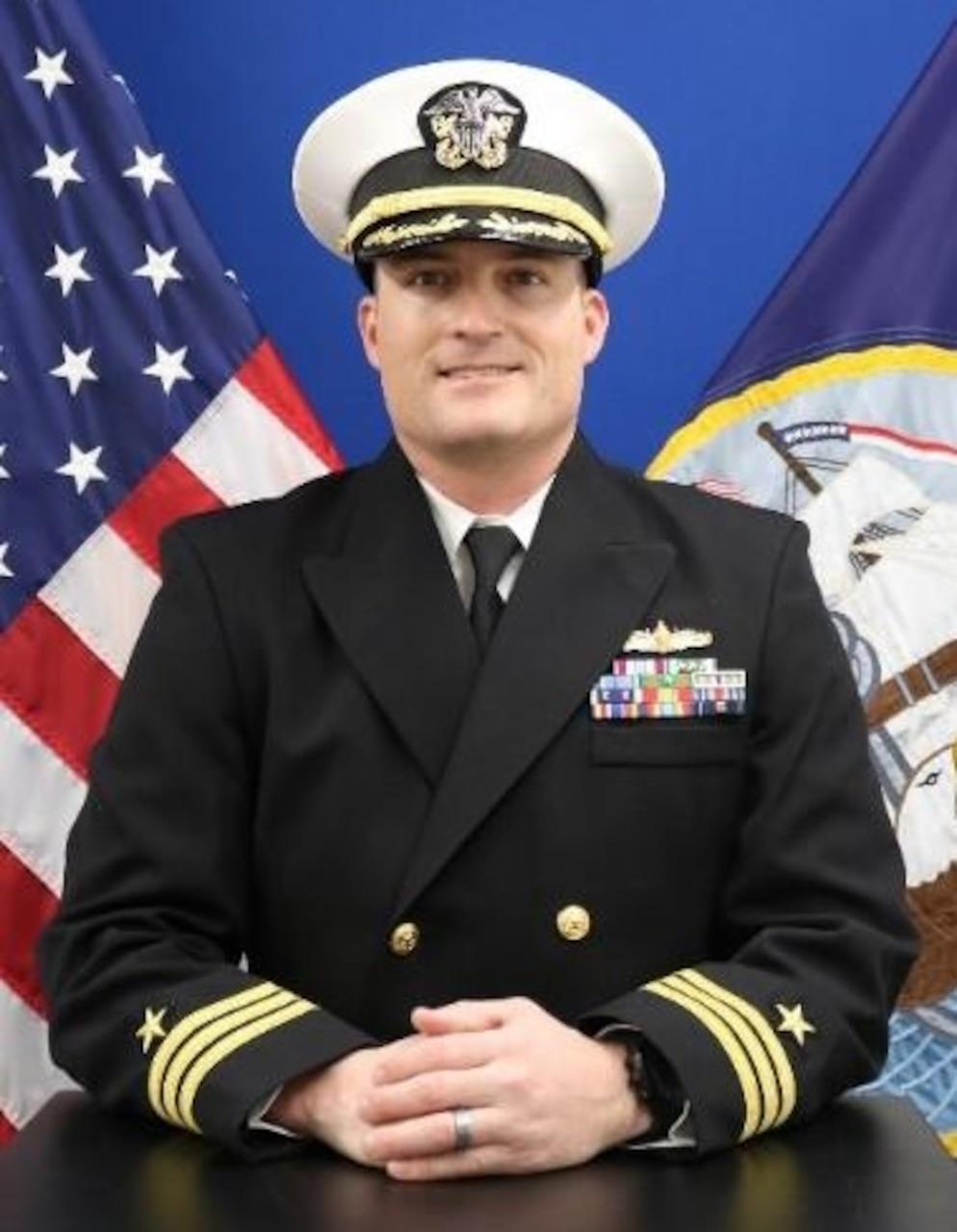 Commander Leif Gunderson
