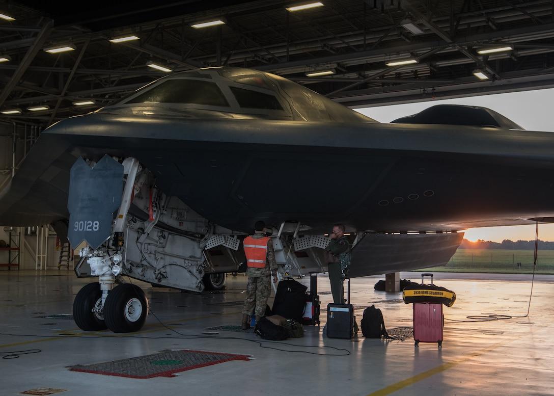 B-2 Spirit at Whiteman Air Force Base
