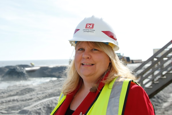 Lisa Metheney, Deputy District Engineer for Programs and Project Management for the U.S. Army Corps Of Engineers Charleston District.