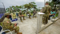 U.S. Marines from Marine Corps Forces Europe and Africa travelled to West Africa to conduct an event in support of the WPS program as part of a national effort to promote the meaningful contributions of women in defense and security sectors around the world.