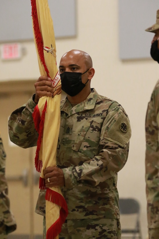 319th Combat Sustainment Support Battalion (CSSB) Change of command