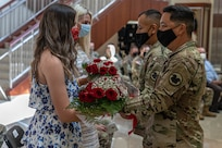 Brig. Gen. Cooley farewell ceremony