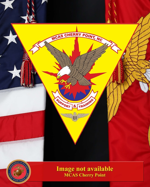 MCAS Cherry Point Logo - Image not available