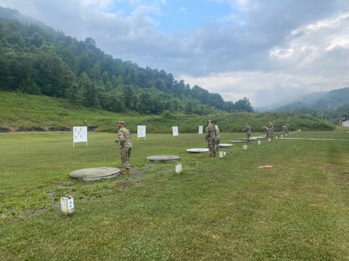 With the backdrop of the Appalachian Mountains, the District of Columbia National Guard's Multi-Agency Augmentation Command conducted annual training at Camp Dawson, West Virginia, August 2-8, to ensure readiness and increase their capabilities to support their mission better.