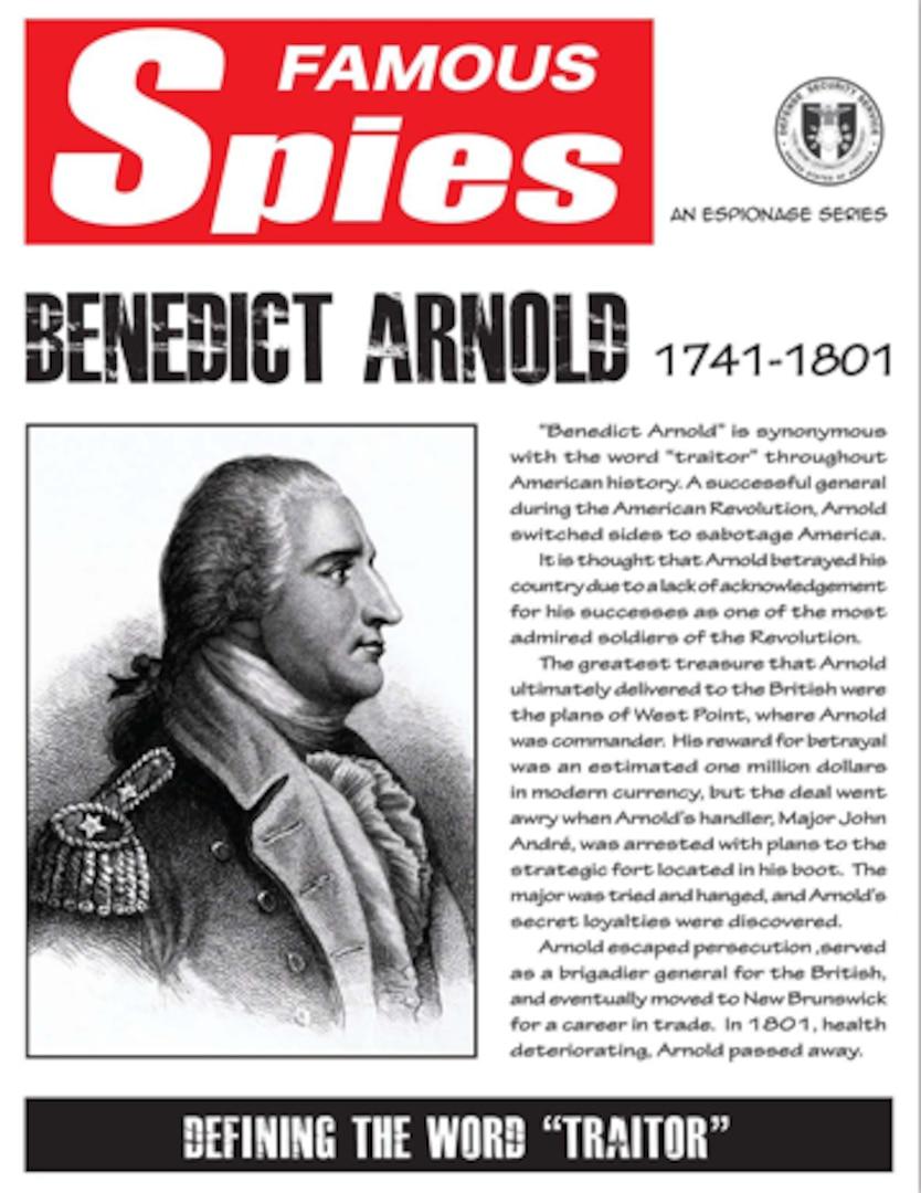 Spy Series: Benedict Arnold thumbnail