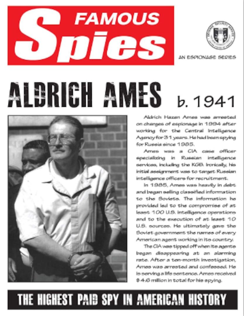 Spy Series: Aldrich Ames thumbnail