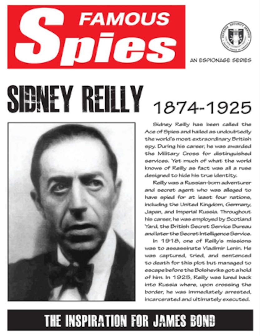 Spy Series: Sidney Reilly thumbnail