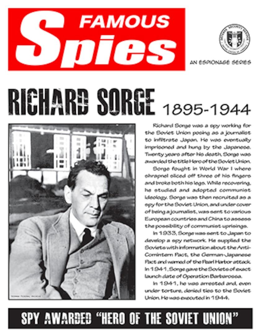 Spy Series: Richard Sorge thumbnail