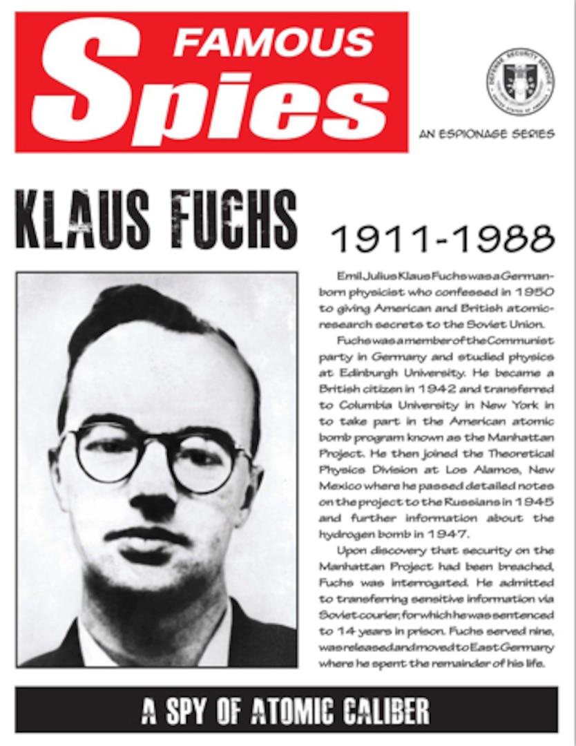 Spy Series: Klaus Fuchs thumbnail