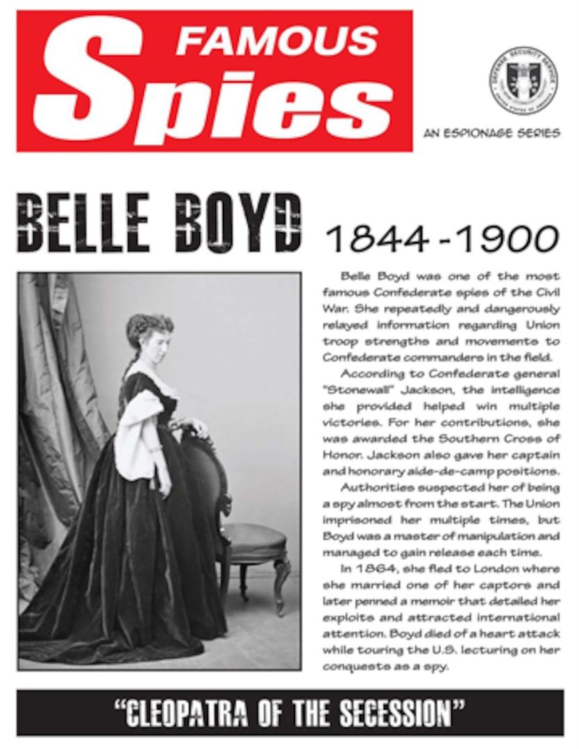 Spy Series: Belle Boyd thumbnail
