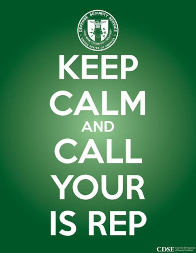 Keep Calm and Call Your IS REP thumbnail