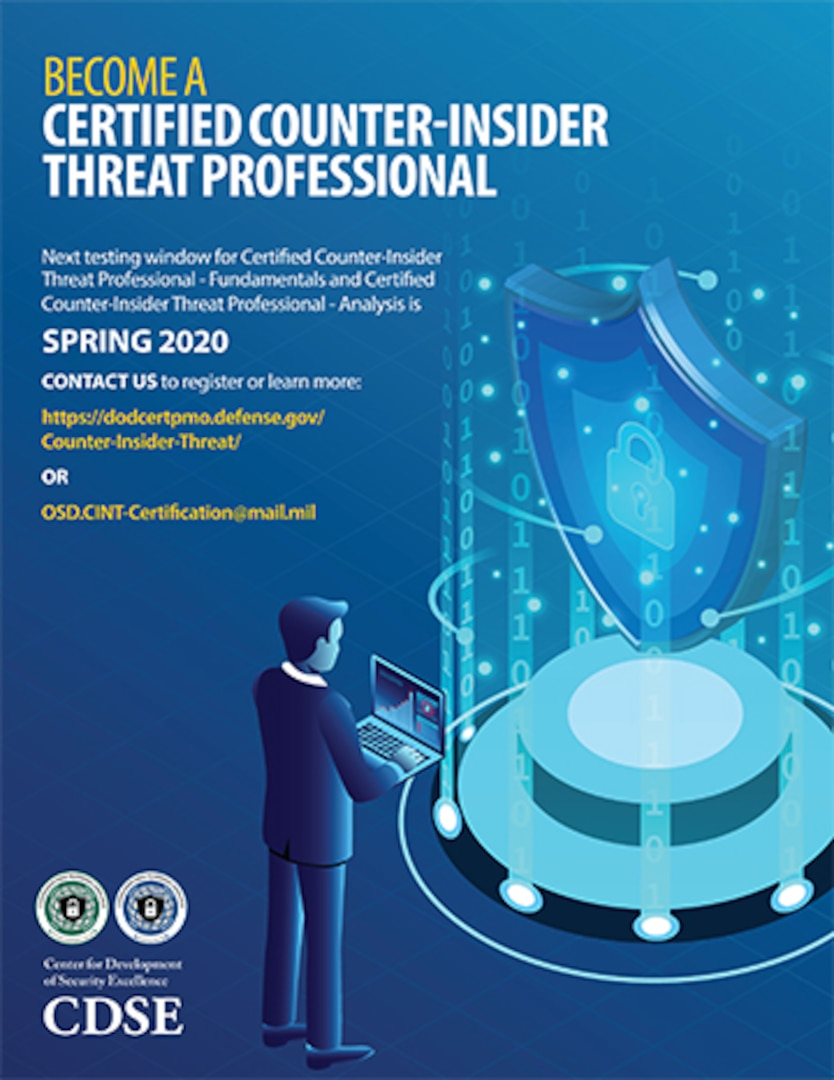 Become a Certified Counter-Insider Threat Professional thumbnail