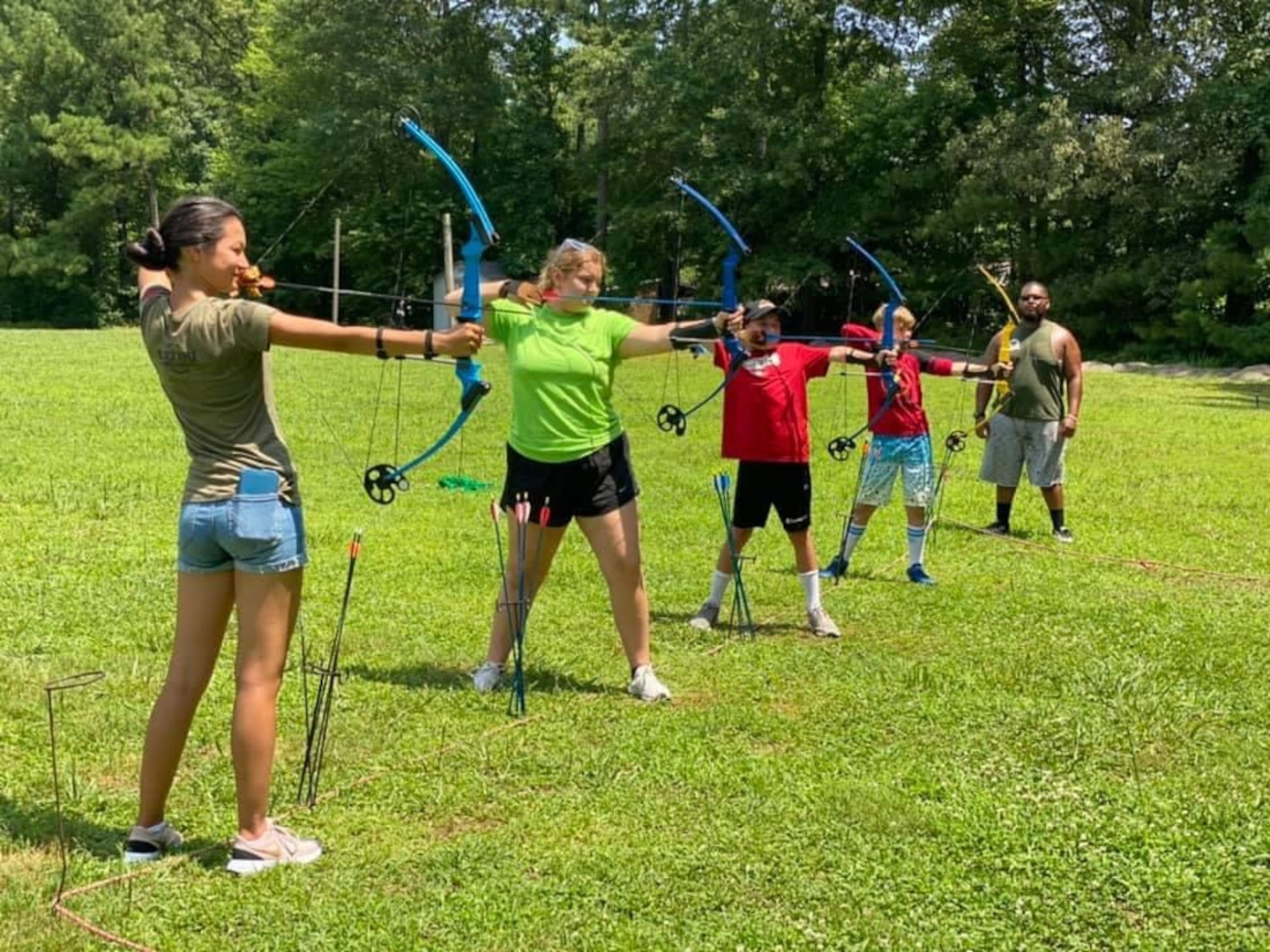 Virginia Guard Youth Program wraps up summer with both in-person, virtual events