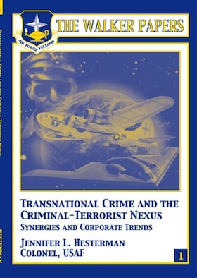 Addressing the convergence of organized crime, drug trafficking, and terrorism requires the new paradigm of strategic thinking ushered in by the war on terrorism. Such an effort cannot be seen through a diplomatic, military, law enforcement, financial, or intelligence lens alone. Rather, it demands a prism of all of these to offer a comprehensive and coordinated approach. Colonel Hesterman's analysis of this subject is accurate and timely. She provides a fresh look at the criminal/terrorist nexus and by examining corporate trends, provides unique insights into funding aspects of both activities. This important subject matter is ripe for further policy and substantive analytical focus. Analysts and policy makers alike can use her study's conclusions and recommendations in their efforts to protect our nation against this vexing threat. [Jennifer L. Hesterman / 2005 / 96 pages ISBN: 158566-139-2 / AU Press Code: P-8]