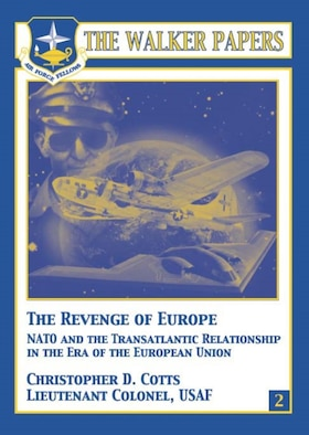The collapse of the Soviet Union, the reunification of Germany, and the emergence of the European Union (EU) have all raised questions regarding the United States' transatlantic relationship and the subsequent role of the North Atlantic Treaty Organization (NATO). The author takes a brief look at past US–European relations and provides an enlightening and provocative analysis of the current state of affairs. Recent tensions in the relationship, he concludes, are a result of the EU's growing role as a state actor in the international system. Policy differences between the United States and the EU are merely symptoms of the changes resulting from the EU's new role. The author proposes a tentative typology of alliances and concludes that the United States and the EU have a co-dependent relationship, with the United States subsidizing the EU's pursuit of policies that, whether by accident or design, undermine US interests. The author calls for a reformulation of the alliance that allows both the United States and the European Union to pursue their own interests while forcing the EU to take responsibility for its own defense. [Christopher D. Cotts / 2005 / 87 pages / ISBN: 1-58566-142-82 / AU Press Code: P-29]