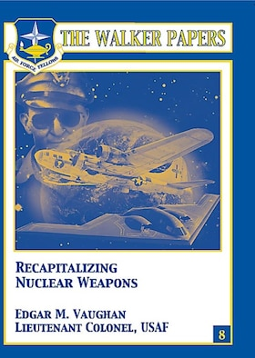 More than six decades after Hiroshima and almost two since the end of the Cold War, the US nuclear weapons stockpile is undergoing an extensive and expensive life-extension program to ensure the continued safety, security, and reliability of the legacy weapons well into the future. The current stockpile does not meet post–Cold War national security challenges. Today's challenge is to sustain and modernize the US nuclear weapons infrastructure with minimal risk and cost. Lt Col Ed Vaughan advocates that to mitigate the risks and address the highly uncertain future security environment, the recapitalization of US nuclear weapons should begin immediately. [Edgar M. Vaughan / 2007 / 80 pages / ISBN: 978-1-58566-170-1 / AU Press Code: P-47]