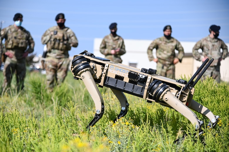 The purpose of the Q-UGV is to enhance security to the base allowing defenders to patrol and monitor more critical areas.